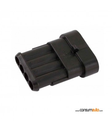 Conector estanco Super Seal 4 vias hembra