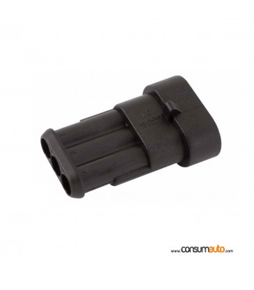 Conector estanco Super Seal 3 vias hembra