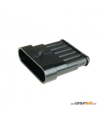 Conector estanco Super Seal 6 vias hembra