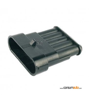 Conector estanco Super Seal 5 vias hembra