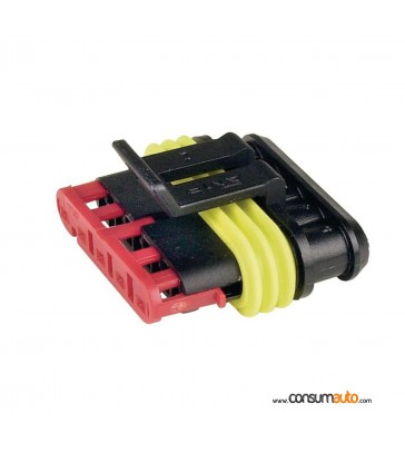 Conector estanco Super Seal 5 vias macho