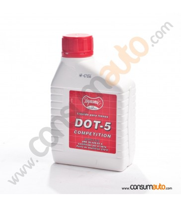 Líquido de frenos Dynamic DOT-5.1 Competition 500ml.