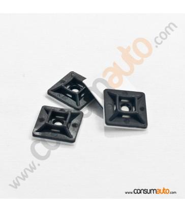 100 Grapas Adhesivas para Bridas de plástico de 4.5mm