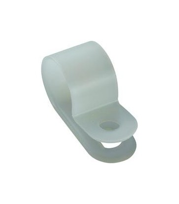 Grapa Plastico 14.2mm Blanco