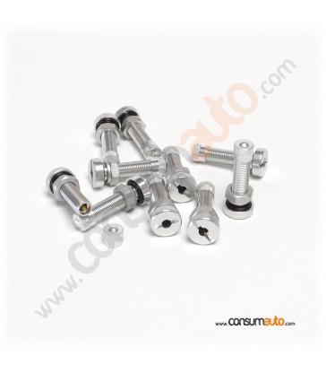 Válvula de aluminio para moto