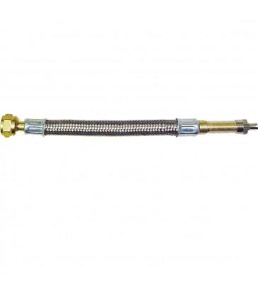 Alargador válvula de rueda metálico flexible