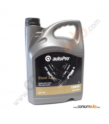 Aceite AutoPro STEEL - XP 15W40 5 L.