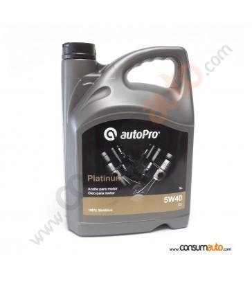 Aceite AutoPro PLATINUM - C3 5W40 5 L.