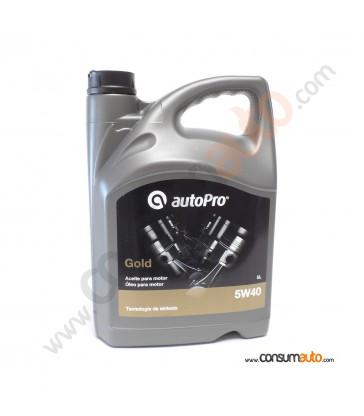 Aceite AutoPro GOLD - 5W40 5 L.