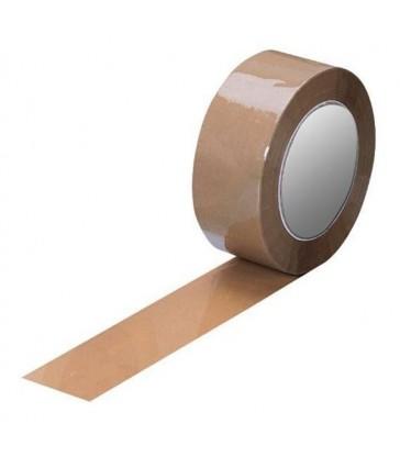Cinta de embalaje marrón
