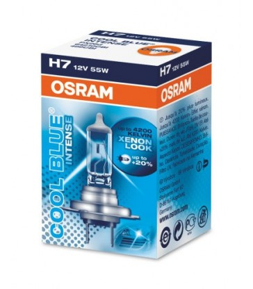 Lampara H7 Osram Cool Blue