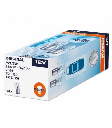 Caja 10 Lámparas 2 Polos Centrada Osram Original