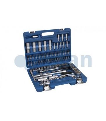 Maletín herramientas 108 piezas cierre metálico