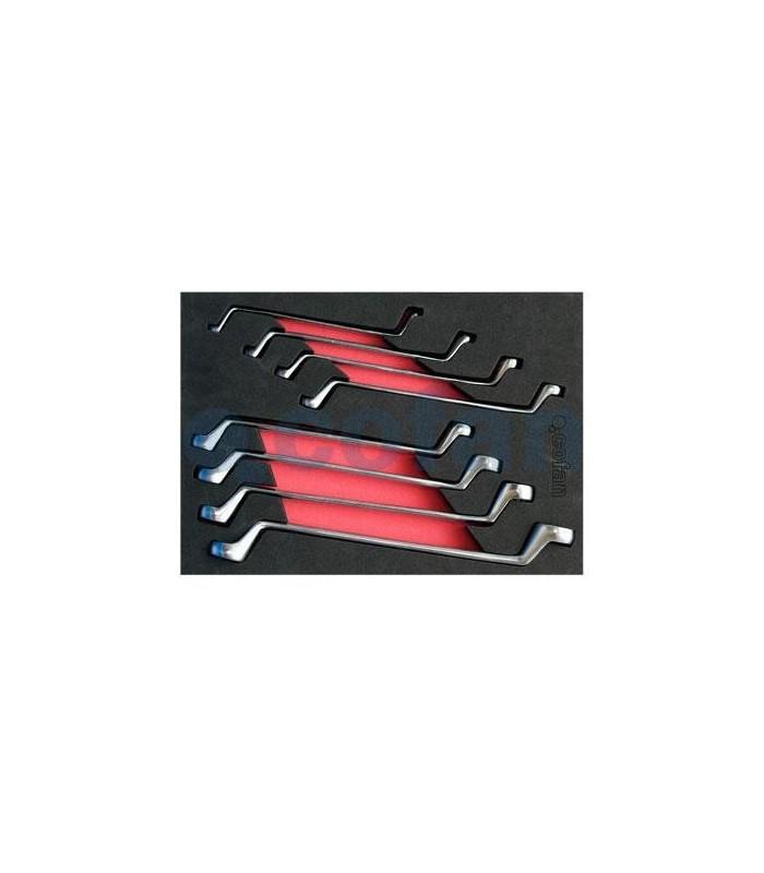 Set llaves de estrella planas 10 piezas