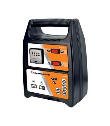 Cargador de batería Comutech 6/12v-12A
