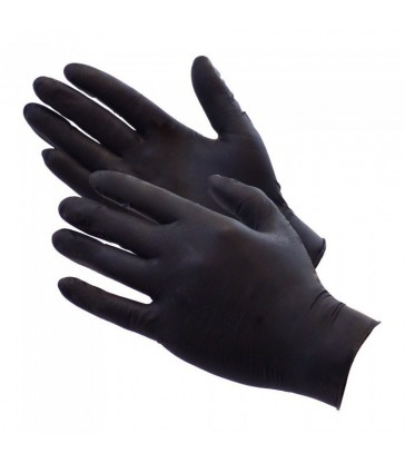 Caja de 100 guantes Nitrilo Negro