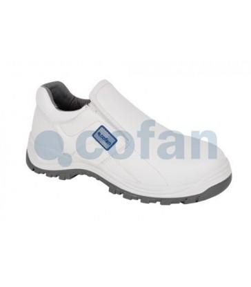 Zapato de seguridad en piel blanca Ceres S3