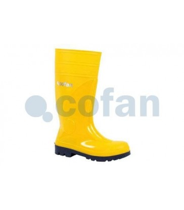 Bota de agua de seguridad Albufera Amarilla S5