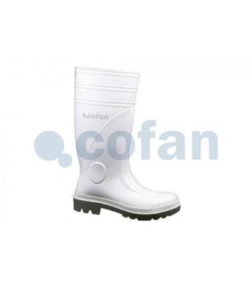 Bota de agua de seguridad Sanabria Blanca S4