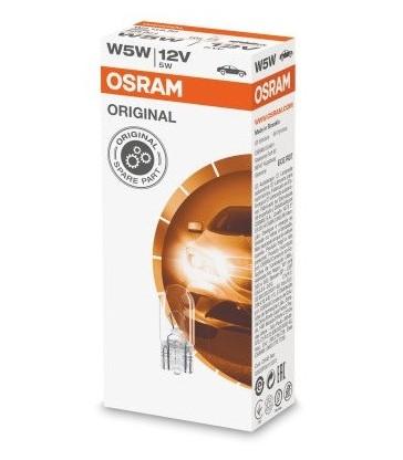 Caja 10 lámparas T-10 W5W Osram Original