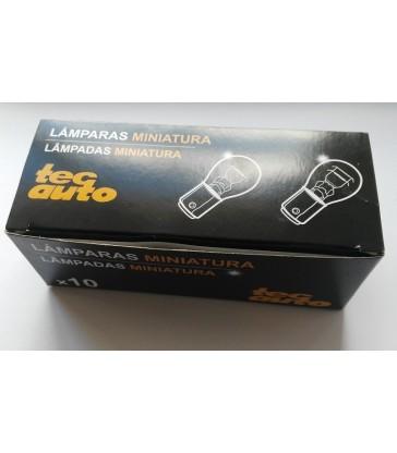 Caja 10 Lámparas 2 Polos Centrados TecAuto