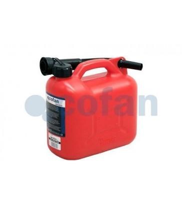 Garrafa de combustible polietileno