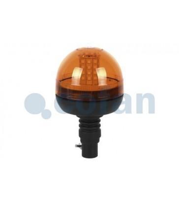 Faro rotativo corto LED para soporte 12V-24V