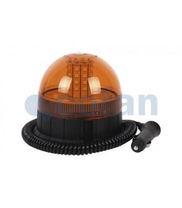 Faro rotativo corto LED imantado o atornillado 12V-24V