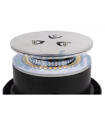 Faro rotativo estacionario LED imantado o atornillado 12V-24V