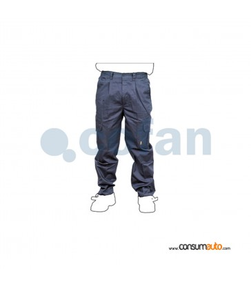 Pantalon de Trabajo Gris
