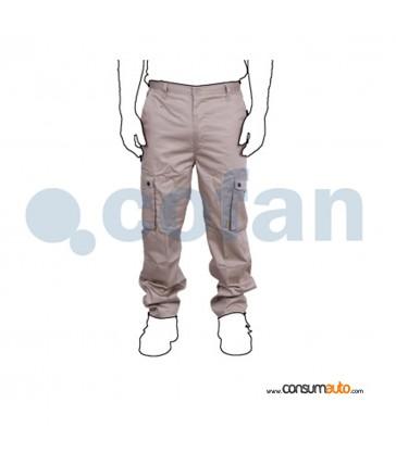 Pantalon de Trabajo Marron Pro
