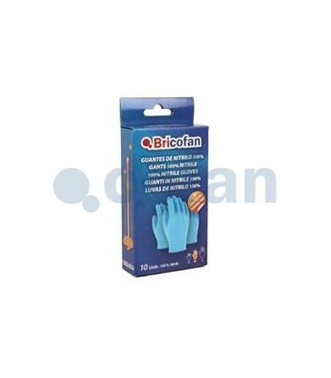 Caja de 10 guantes de nitrilo