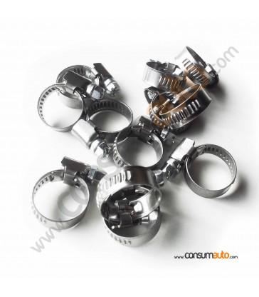 100 Abrazaderas Metálicas Sinfin 12-20mm